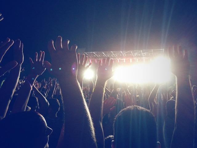 noční koncert