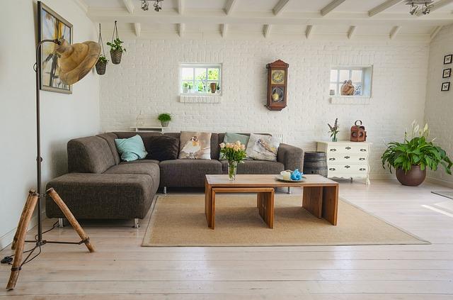 útulný obývací pokoj)