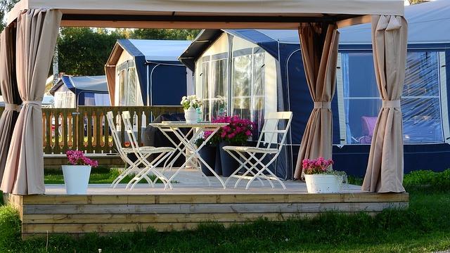 dřevěná veranda