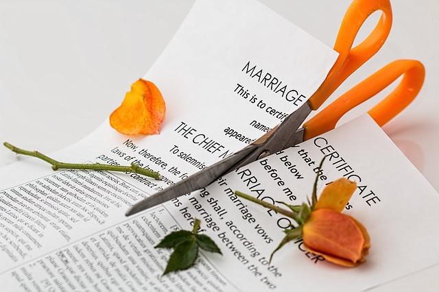 ukončení manželství