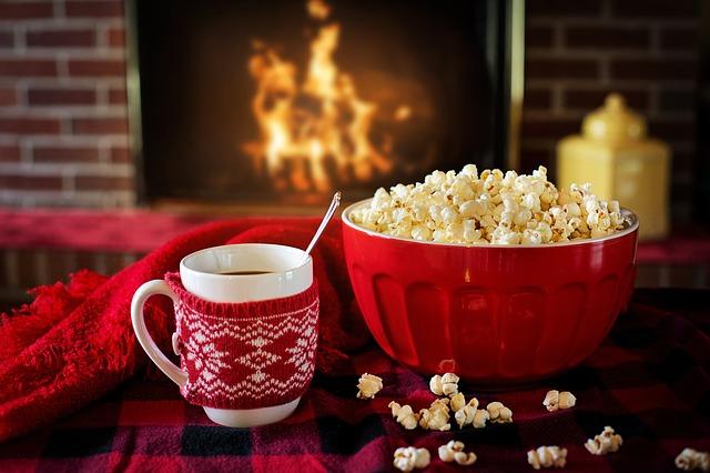 popcorn u čaje